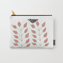 Bird in the Bush Carry-All Pouch