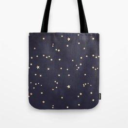 Gold Stars Tote Bag