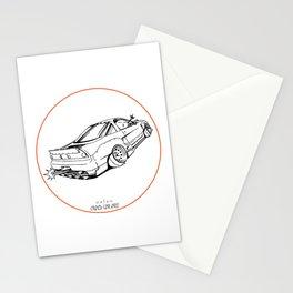 Crazy Car Art 0191 Stationery Cards