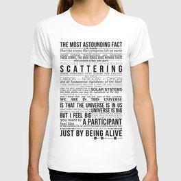 Neil DeGrasse Tyson Science Manifesto T-shirt