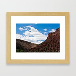 Arizonan Landscape 1 Framed Art Print