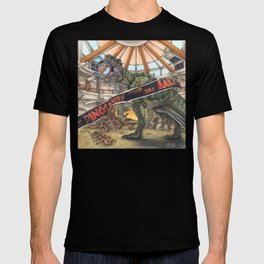 When Dinosaurs Ruled the Earth - Jurassic Park T-Rex T-shirt