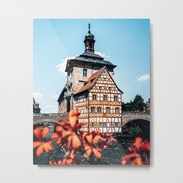 Townhall Bamberg Bavaria Germany Metal Print