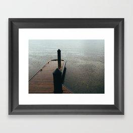 Dock II Framed Art Print