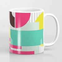 geo Mugs featuring GEO by LNLONDON