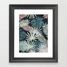 Tropicalia Night Framed Art Print