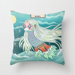Amabie 2020 Healing Spirit Throw Pillow