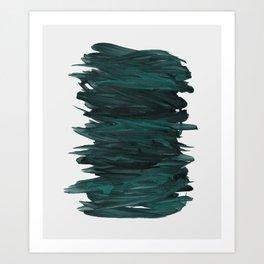 Abstract Minimalism #3 #minimal #ink #decor #art #society6 Art Print