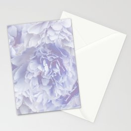 Flower Bouquet In Pastel Blue Color - #society6 #buyart Stationery Cards