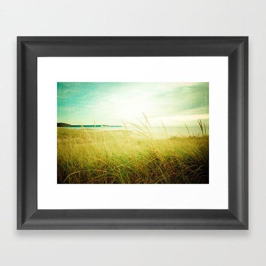 Beach Times Framed Art Print