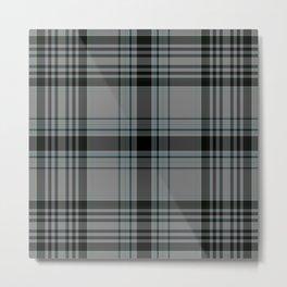 Tartan pattern Metal Print