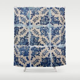 Portuguese Azulejo tiles Shower Curtain