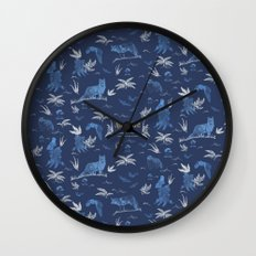 Nemophilist Wall Clock