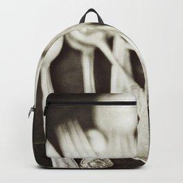 Antique Silverware Backpack