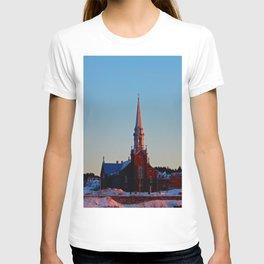 Church at sunset T-shirt