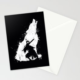 Wolf Knight Stationery Cards