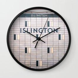 Islington Station Toronto Subway Sign Wall Clock