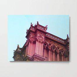 Pink Gargoyles Metal Print