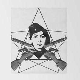The Sniper (star) Throw Blanket