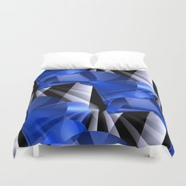 3D abstraction -03a- Duvet Cover