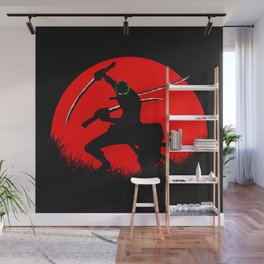 tree sword warrior Wall Mural