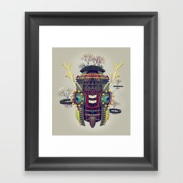 Earth Deity Framed Art Print