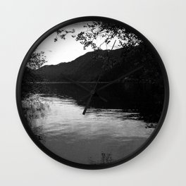Peace by the Water Wall Clock