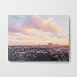 View of Downtown Los Angeles Metal Print