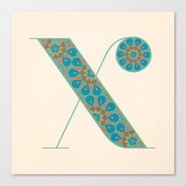 X - Amarilis Canvas Print