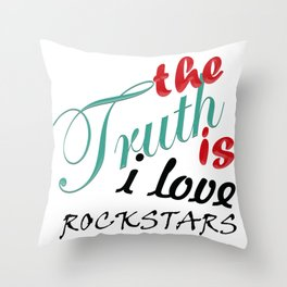 The Truth is... Throw Pillow
