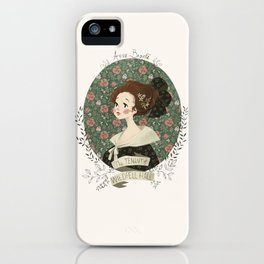 The tenant of Wildfell hall iPhone Case
