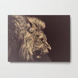 The Lion Metal Print