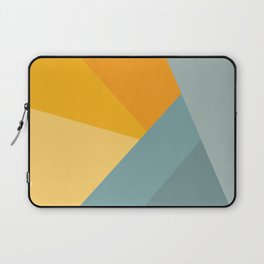 Abstract Mountain Sunrise Laptop Sleeve
