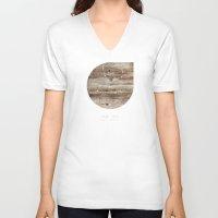 virgo V-neck T-shirts featuring Virgo by bialakura