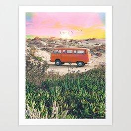 Summer Adventure #photography #digitalart Art Print