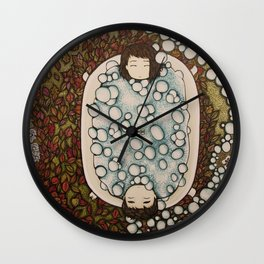 spanning seasons Wall Clock