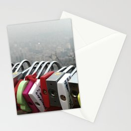 Smog in Seoul Stationery Cards