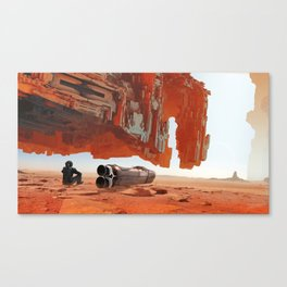 A Hundred Miles Off Canvas Print