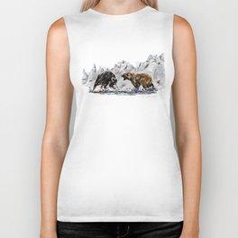 Bull and Bear Biker Tank