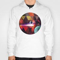 planet Hoodies featuring Planet by Tony Vazquez
