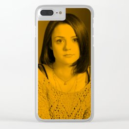 Kathryn Prescott Clear iPhone Case