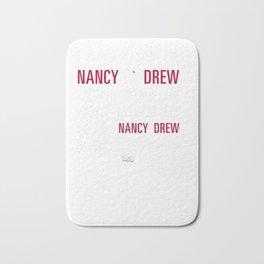 Nancy Drew: I'm Not Saying I'm Nancy Bath Mat
