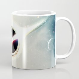 Interstellar Inspired Fictional Sci-Fi Teaser Movie Poster Coffee Mug
