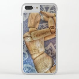 distress Clear iPhone Case