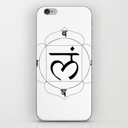 root chakra Muladhara iPhone Skin