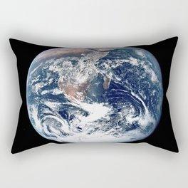 Apollo 17 - Iconic Blue Marble Photograph Rectangular Pillow