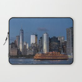 NYC and Staten Island Ferry Laptop Sleeve