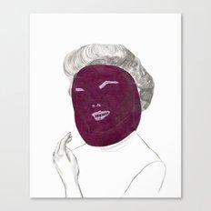 60's actress Canvas Print