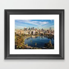 Downtown Los Angeles Framed Art Print
