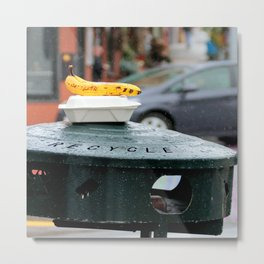 Waste Not, Want Not - Recycle Metal Print
